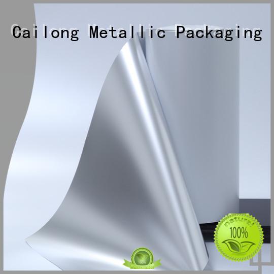 Cailong High flex crack resistance metallic film supplier ffor Decorative
