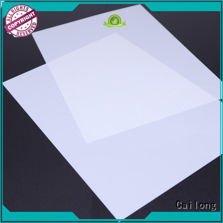 Cailong filmssheet polycarbonate clear plastic sheet for kids for optical lenses