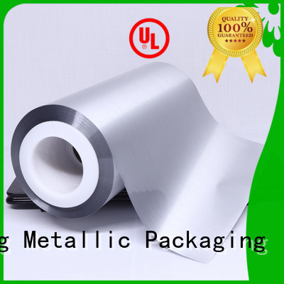 Aromas metalized polypropylene film for sale for decorative materials Cailong