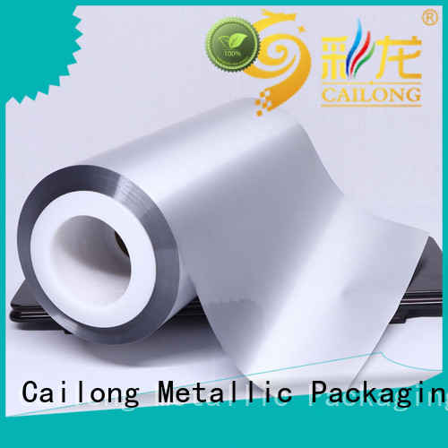 metallizing metalized foil cost used for stickers Cailong