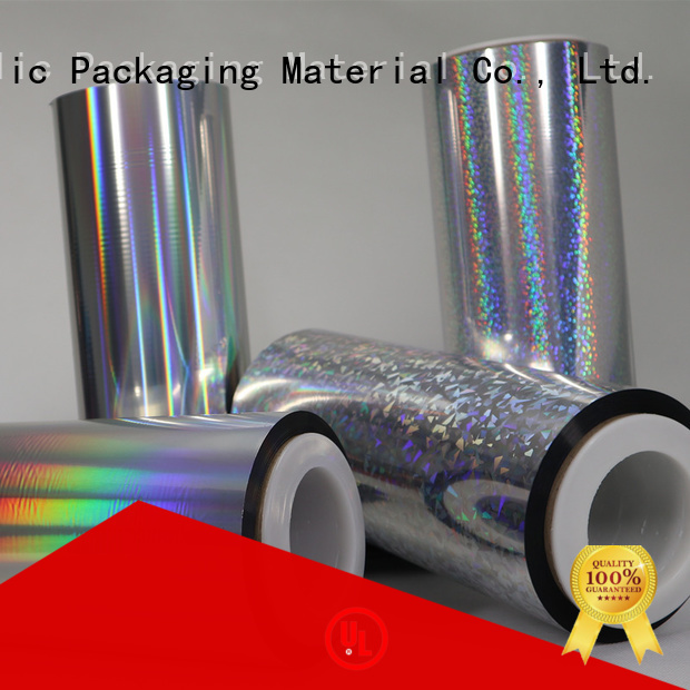 Cailong superior holographic plastic sheets for Tinplate