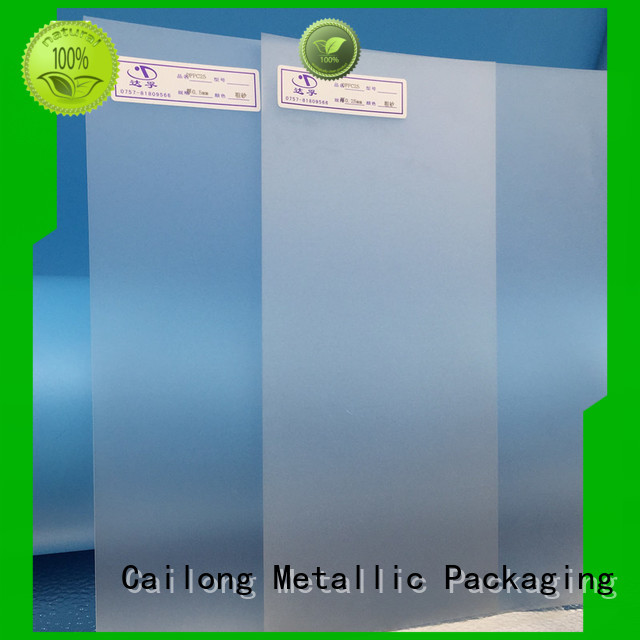 Cailong Optical Transparent pc film in different color for optical lenses