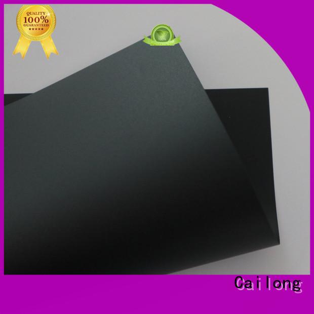 Black Flame Retardant Polycarbonate Film/Sheet