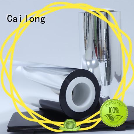 Cailong metallizing metallised film type for shopping bags