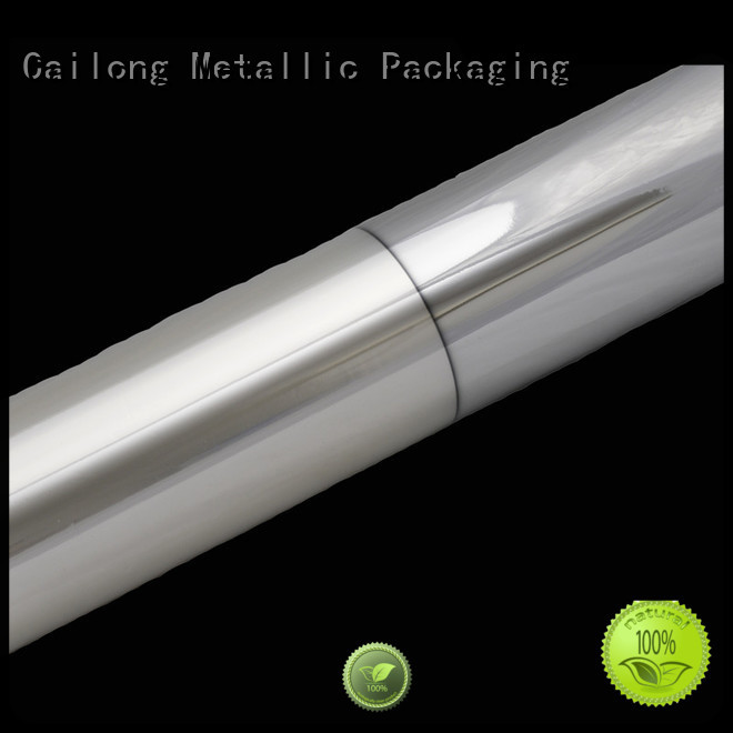 Cailong Vacuum metalized foil vmpetgz ffor Decorative