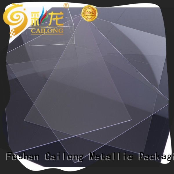 Cailong Printing polycarbonate plastic sheets with good price for liquid crystal displays