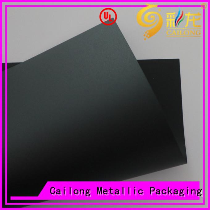 Cailong composite transparent polycarbonate sheet for LED lighting