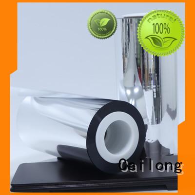 grade metalized bopp film popular ffor Decorative Cailong