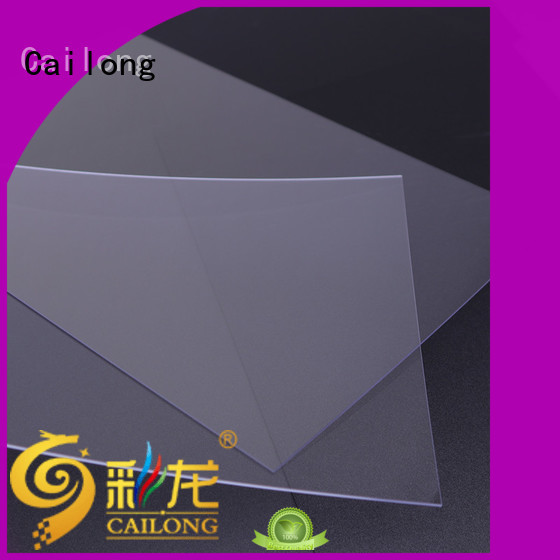Cailong filmsheet polycarbonate material customization for medical equipment
