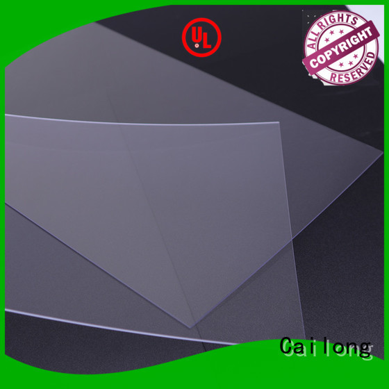Cailong black polycarbonate plastic sheets customization for medical equipment