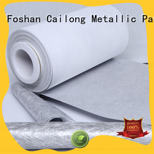 pet metallic polyester film aluminum used for labels Cailong