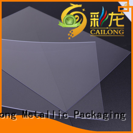 Cailong Printing custom polycarbonate sheets factory for LED lighting