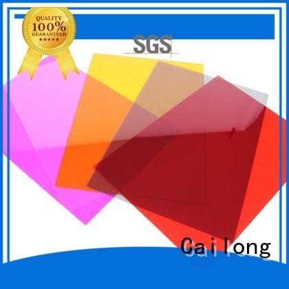 Cailong Reflective polycarbonate plastic sheets button design for electronic appliances