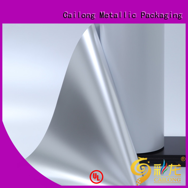 Cailong Anti- Explosion metalized pet film experts for product