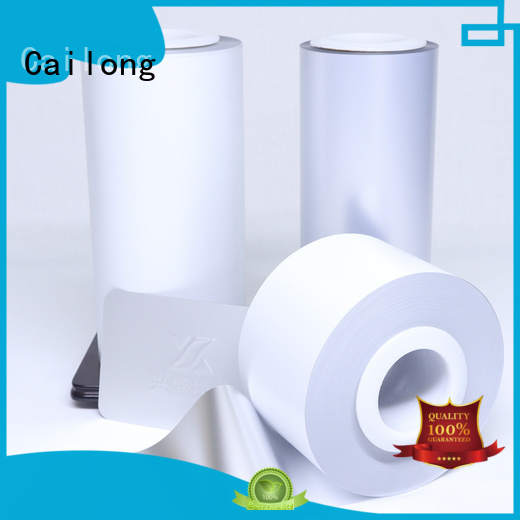 Cailong color color pet film widely-use for cosmestics