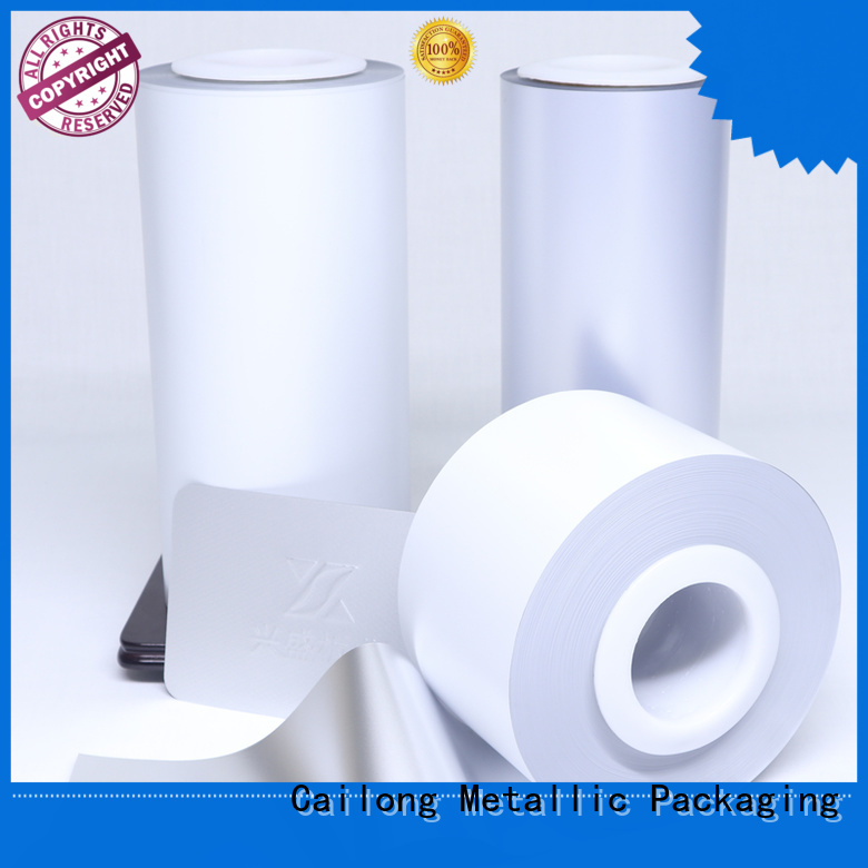 colored pet film factory for advertising Cailong