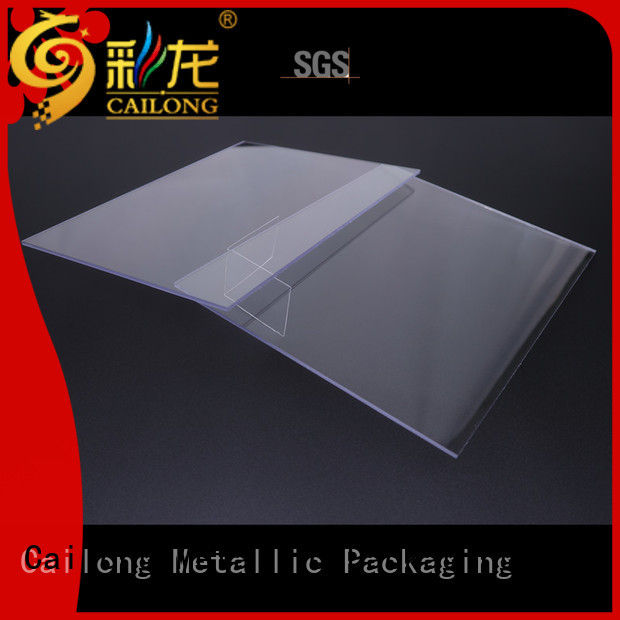 Cailong polycarbonate pc film customization for optical disk substrates