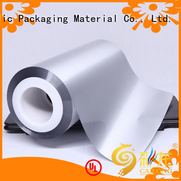 Cailong gloss metallic film cost for product