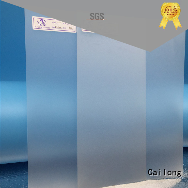 Cailong Reflective polycarbonate film from China for optical disk substrates