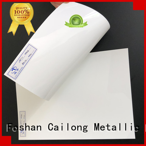 Printing clear polycarbonate rolls in different color for electronic appliances