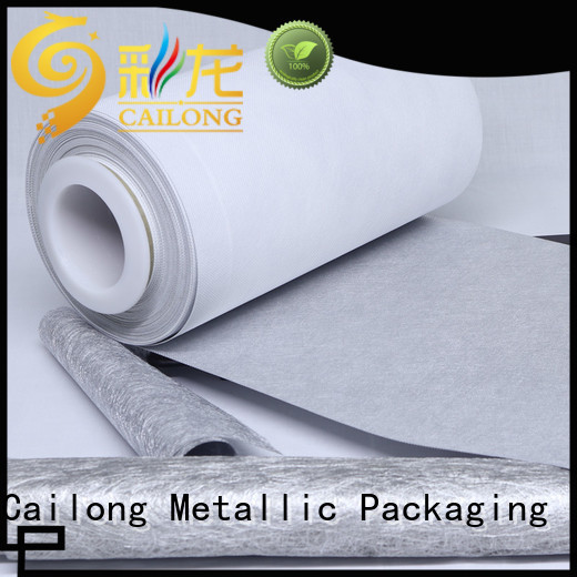 metalized plastic film call for advertising Cailong