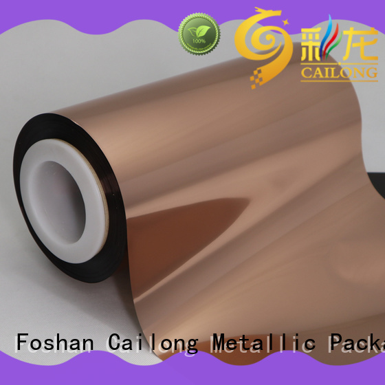 metalized polyester film metallized for alcohol Cailong