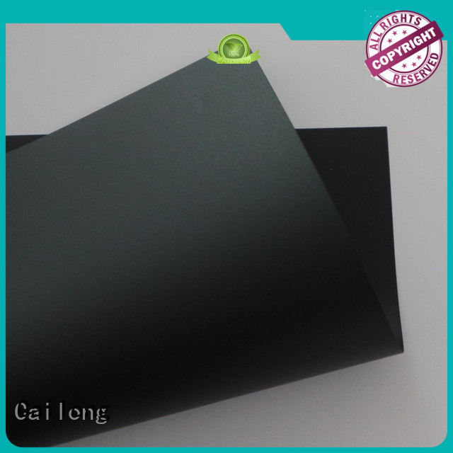 Cailong filmsheet polycarbonate plate button design for liquid crystal displays