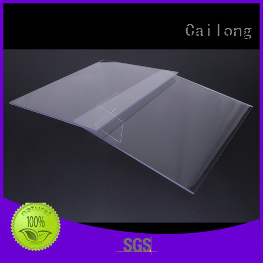 printing clear polycarbonate rolls from China for optical lenses Cailong