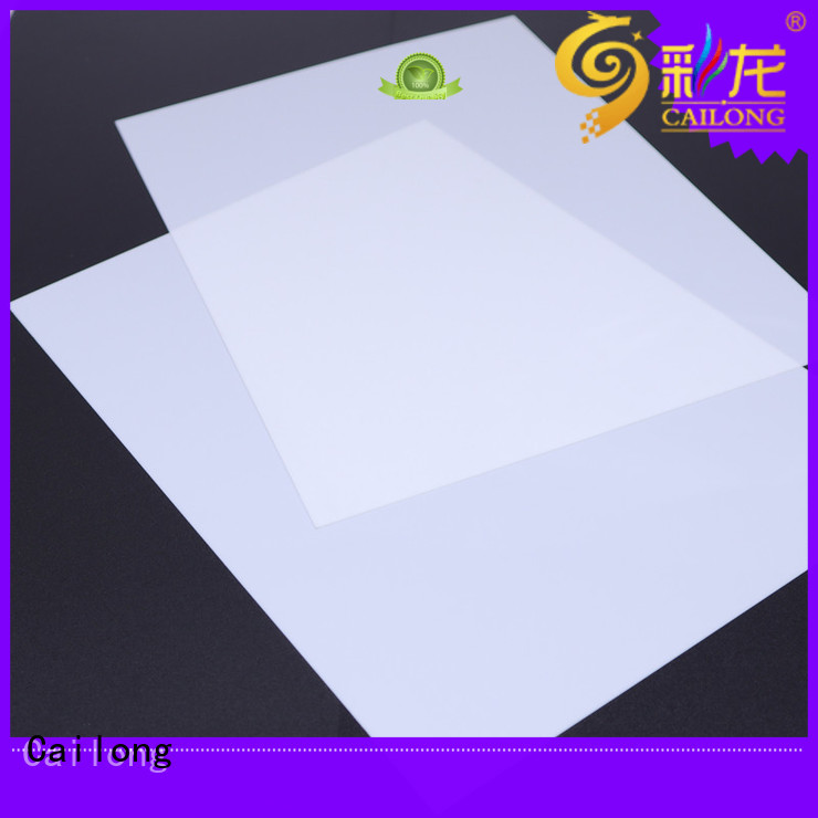 grade clear polycarbonate rolls printing for liquid crystal displays Cailong