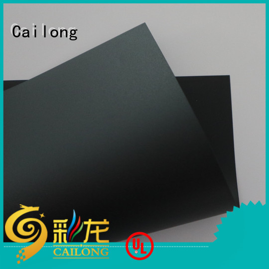 Cailong black clear polycarbonate customization for LED lighting