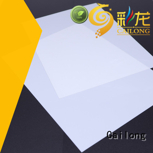 Cailong polycarbonate plate wholesale for aerospace