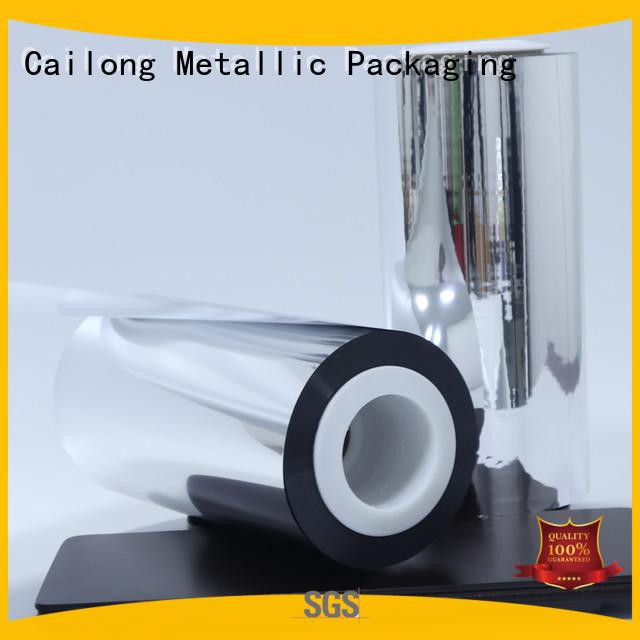 High flex crack resistance metalized film metallized for sale for decorative materials