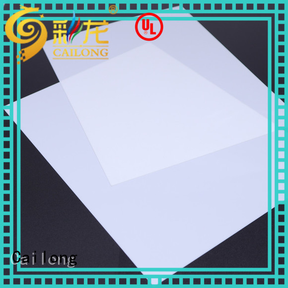 Cailong Transparent transparent polycarbonate sheet for kids for medical equipment