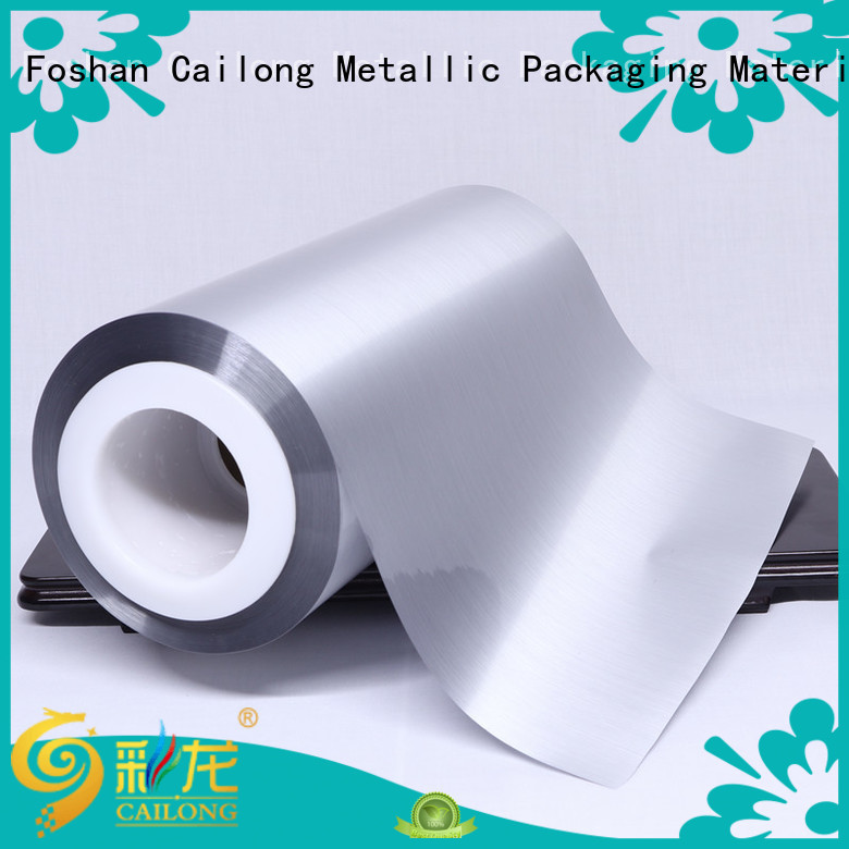 explosion metalized film food packaging semimetallized used for stickers Cailong