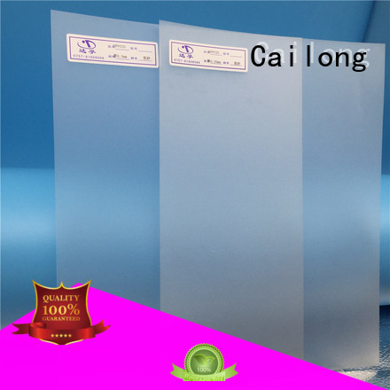 Cailong optical polyester film sheets customization for aerospace