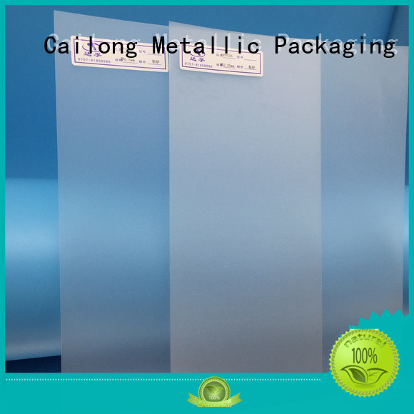 Cailong opaque clear plastic sheets in different color for LED lighting