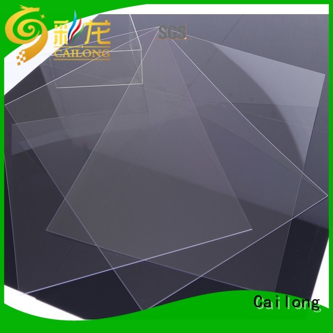 Light Guiding clear polycarbonate rolls wholesale for sporting goods Cailong