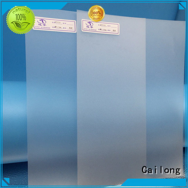 Cailong Transparent flexible polycarbonate sheet sheetfilm for sporting goods