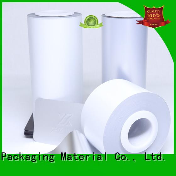Cailong film color transparency film vendor for packing foor