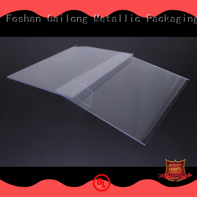 Cailong Printing polycarbonate film customization for automobiles