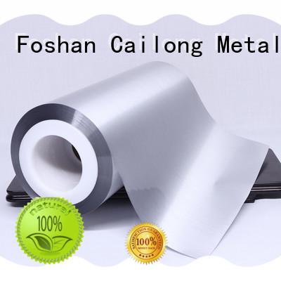 Cailong Anti- Explosion metalized pet film popular for decorative materials