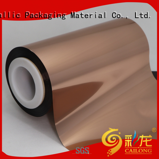 pet metalized polyester film film for alcohol Cailong