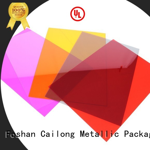 Cailong Textured pc film with good price for liquid crystal displays
