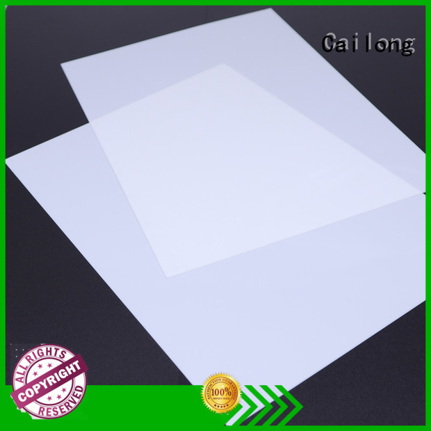 Cailong filmsheet polystyrene sheets in different color for automobiles
