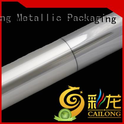 UV light protection metallised film semimetallized type for meat