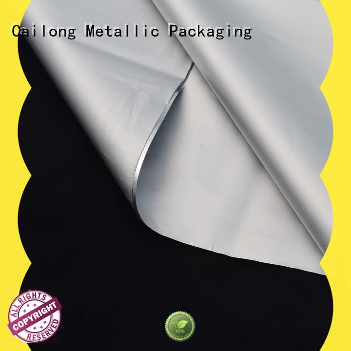 Cailong nano metal film free design used for medicine