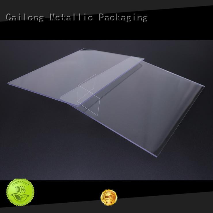 Cailong black transparent polycarbonate sheet wholesale for optical disk substrates