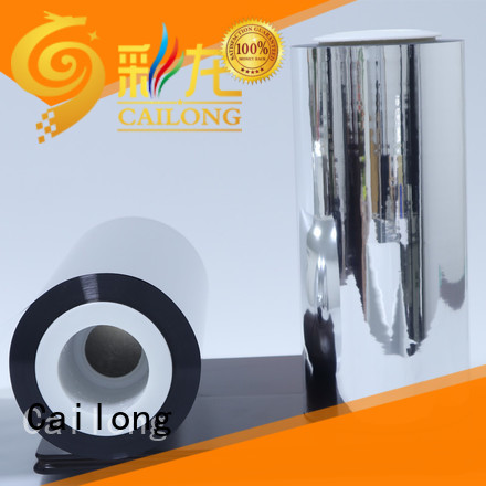 Cailong partial metallic film ffor Decorative