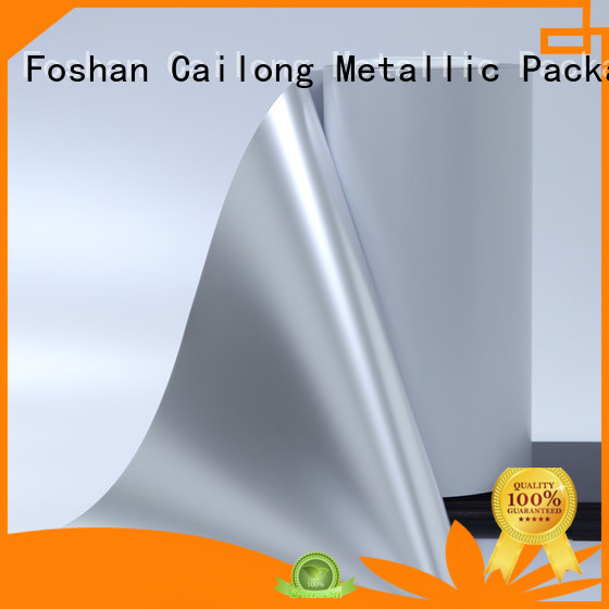 Cailong UV light protection metalized film for shopping bags