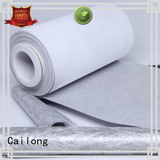 nonwoven metallised plastic film free design for shopping bags Cailong
